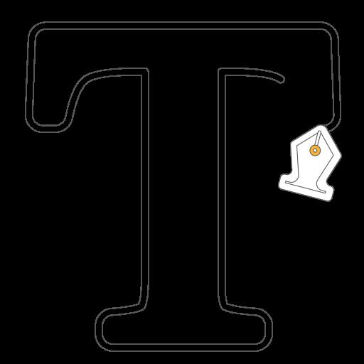 icone typographie