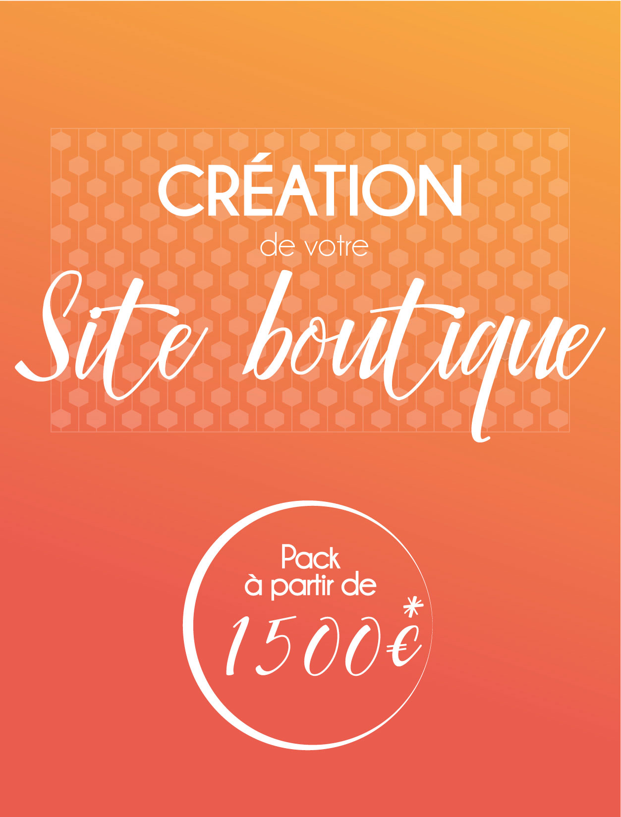 Pack site web boutique