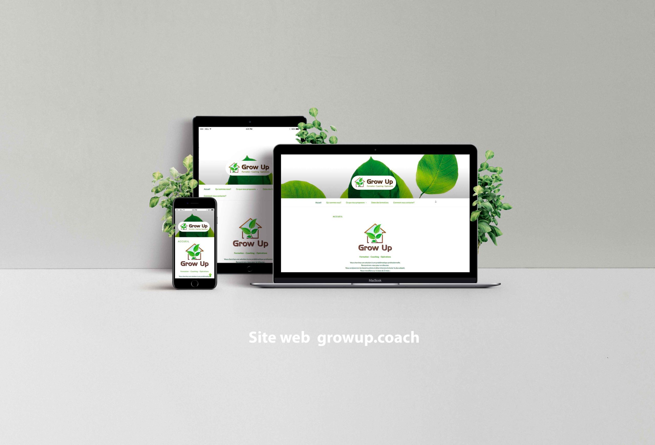 Site web growup.coach